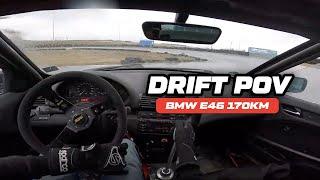 BMW E46 325 DRIFT OnBoard / KursDriftu.pl / Drift Pov #5