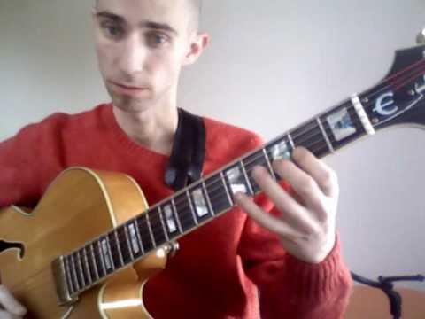 Clínica Guitarra Jazz: Serie de escalas