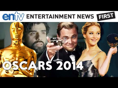 Oscars 2014 Preview : Early Picks, Inside Llewyn Davis, Jennifer Lawrence, Leonardo DiCaprio - ENTV