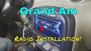 2005 Pontiac Grand Am Ram Air Radio Install B&S Customs DIY Trim Dash Removal