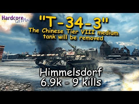 WoT: Tier VIII of the Week, T-34-3 Chinese medium tank will be removed, WORLD OF TANKS