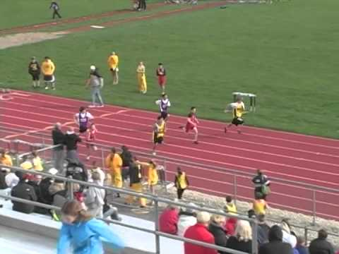 Owen - Open 100m dash Bettendorf Middle School 7th grade record