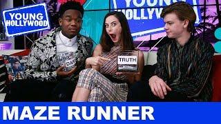 Maze Runner Stars: Truth or Dare!