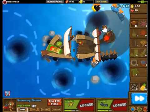 Bloons Monkey City Special Mission Shipwrecked... WITHOUT BOATS?!?
