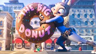 ZOOTOPIA - Judy And The Big Donut Scene (2016) Movie Clip