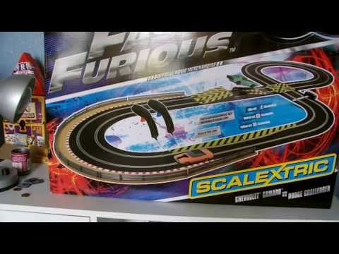 Scalextric Set Review: Fast And Furious 6 video