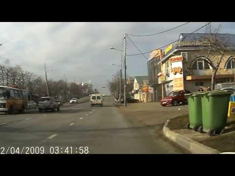 ДТП, г. Краснодар на Красных Партизан, 24.12.2013