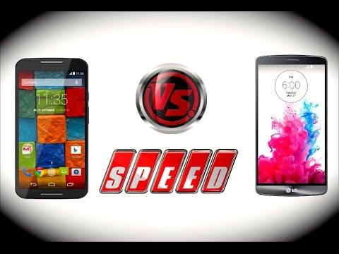 Motorola Moto X 2014 VS LG G3 (rendimiento)
