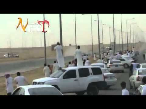 Crazy Arab Drifting with AK-47 best