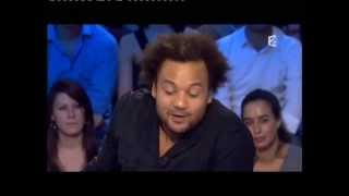 Fabrice Eboué - On n'est pas couché 10 octobre 2009 #ONPC