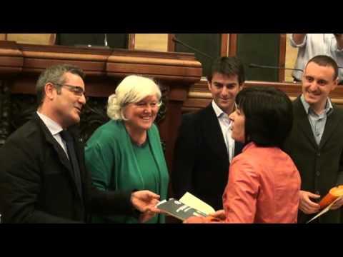 Premiazione studenti dell'Università di Cagliari con le tessere per il Car Sharing