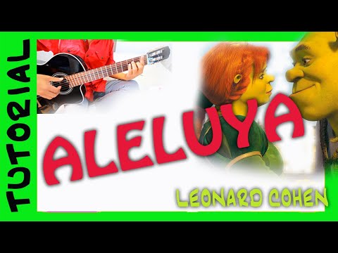 Como tocar Hallelujah de Shrek en guitarra how to play