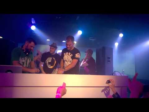 Stanton Warriors - Five Sixty - Vancouver, BC - March 14th, 2015 - Gorillaz - Feel Good Inc Remix