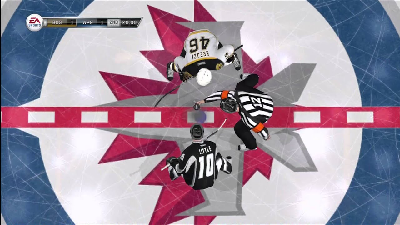 nhl winnipeg jets wallpaper NHL 12 XBOX 360 quot Boston Bruins vs Winnipeg Jets quot YouTube