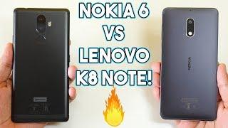 Nokia 6 vs Lenovo K8 Note Speedtest Comparison!