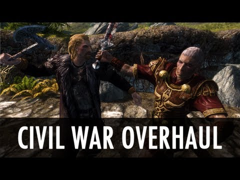 Skyrim Mod: Civil War Overhaul