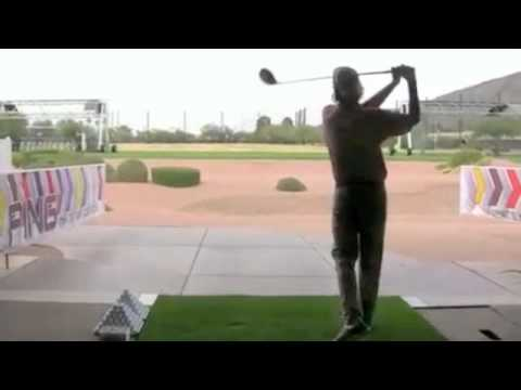 Bubba Watson Amazing Upside Down Club Trick Shot