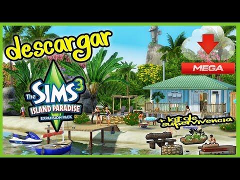 Descargar E Instalar Los Sims 3 Aventura en la Isla + Kit de Supervivencia 2017 (MEGA)