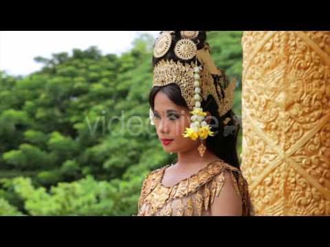 Stock Footage - Apsara Dancer Seductive Beautiful In Asian Mythology | VideoHive