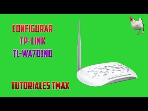 Configurar Tp-Link TL-WA701ND Modo Repetidor