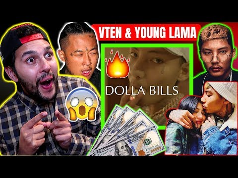 डलर बिल VTEN - DOLLA BILLS ft. Young Lama Official Music Video FIRST HONEST REACTION