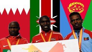 Eritrea -  IAAF World Half Marathon 2018 Highlights - Eritrean Aron Kifle