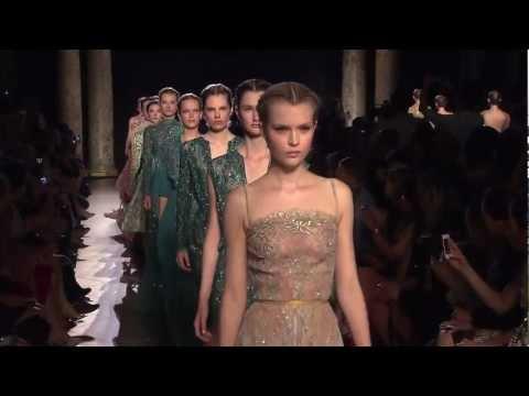 Vídeo do desfile Elie Saab coleção inverno 2013