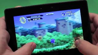 Sonic the Hedgehog 4 Episode I for the BlackBerry PlayBook