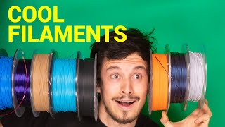 My Favorite PLA Filaments 2019 // Cool Prints 6