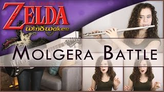 Zelda: Wind Waker - Molgera Battle | Cover by Julia Henderson