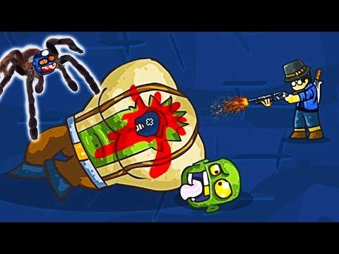 ПОБЕДИЛ ОГРОМНОГО ЗОМБИ БОССА мульт игра про зомби приключения ВИДЕО для детей про ЗОМБИ GIBS