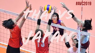 Fullmatch THAI VS JAPAN final avc2019 Asia womens volleyball championship