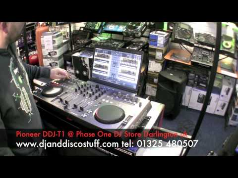 pioneer ddj-t1 demo video / review @ phase one dj store