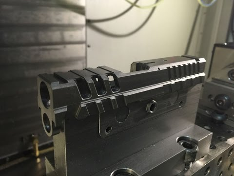Raptor One CNC machining from Springfield Slide Blank
