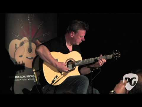 Montreal Guitar Show '10 - Greenfield Guitars played by Tony McManus