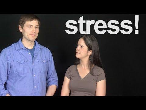 American English Imitation Exercise:  Is Tom Stressed?