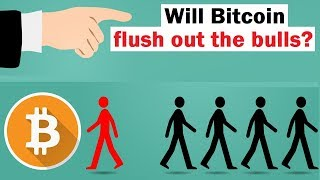 Will Bitcoin Flush Out the Bulls?