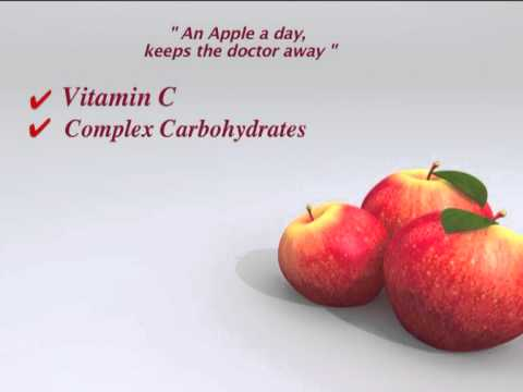 Fruit Break - Nutritional Benefits Of Apple - Part 1- Tips For Healthy Eating