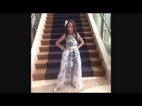 Tiana Polanco international junior miss 2014 preteen queen farewell