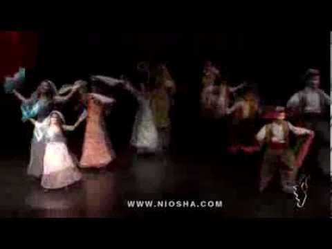 Naz Maka Kordi Dance By Niosha Dance Academy video
