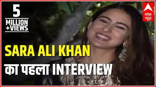 Taimur Calls Me 'Gol', Reveals Sara Ali Khan In Her FIRST INTERVIEW To News Channel | ABP News
