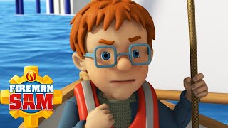 Fireman Sam New Episodes 2016 - Ocean Rescue! 🌊⚓ PART 5/5