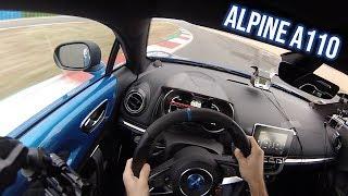 ALPINE A110 ON TRACK | POV + IMPRESSIONS | HARD DRIVEN (Romain Monti)