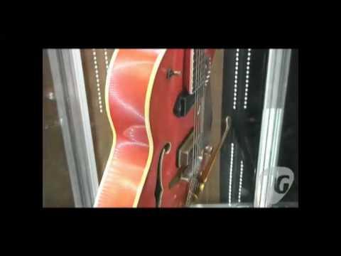 NAMM '10 - Gretsch Guitars Custom Shop G6120EC Eddie Cochran Tribute Model