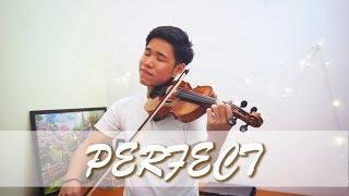 Ed Sheeran Perfect Violin Instrumental By Alan Ng