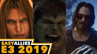 FF VII, Avengers, Cyberpunk, and More - Impressions Day 1 - E3 2019 (audio fixed)