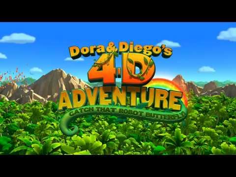 Dora & Diego's 4-D Adventure Trailer