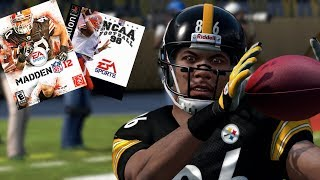 HINES WARD THROUGH THE YEARS FROM NCAA FOOTBALL 98 TO MADDEN 12