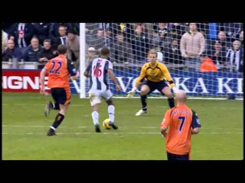 2008-09 West Bromwich Albion v Manchester City