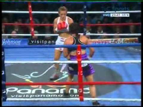 YESICA BOPP vs ANABEL ORTIZ - FULL FIGHT - PELEA COMPLETA
